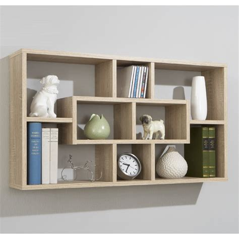 Etagere 50 Cm Largeur by Canadian Oak Home Wall Shelves Lasse 13260 Furniture In