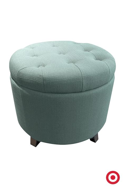 circle ottoman storage 25 best ideas about round storage ottoman on pinterest