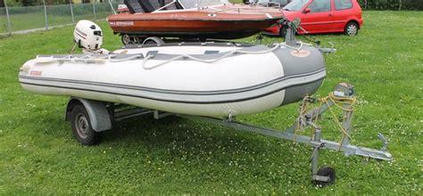 opblaasboot met buitenboordmotor boot sumar met johnson 4pk 4 takt kortstaart