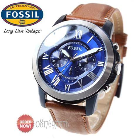 Terlaris Jam Fossil Fs5151 Grant Chronograph Light Brown Original jam tangan original fossil fs5151 katalog jam fossil pria