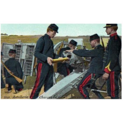 les artilleurs de passy et le canon de 75 mm en 14 18
