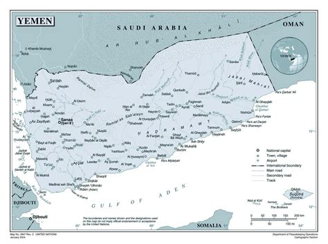 map of yemen cities large detailed political map of yemen with roads cities