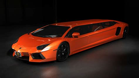 lifted lamborghini lamborghini aventador stretch limousine concept shown