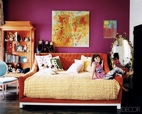 purple and orange bedroom orange and purple bedroom the apartment pinterest