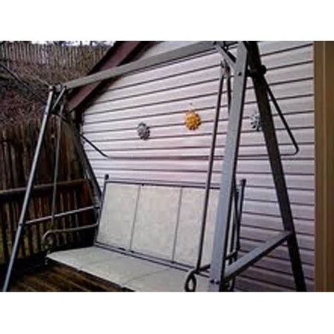 replacement sling for patio swing lowes coleman three person sling replacement canopy garden