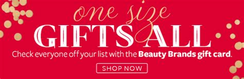 Beauty Brands Gift Card - beauty brands beauty skincare makeup hair nails salon and spa