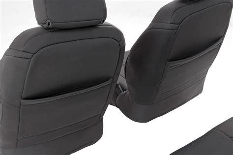 jeep wrangler jk neoprene seat covers black neoprene seat cover set for 2013 2017 jeep wrangler