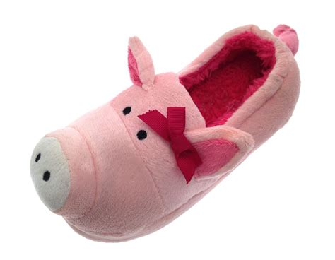 children s animal slippers 3d novelty slipper boots booties plush animal