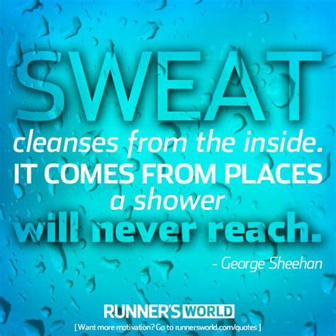 Sweat Detox Results by Sweat Is Cleansing Runners Complex Carbs And Showers