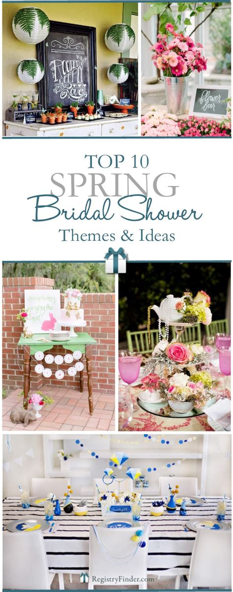 top 10 bridal shower themes host a wedding shower