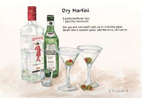 dry martini recipe drinks dry martini recipe paintings by brenda erickson