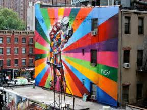 Street Art by Eduardo Kobra Brazilian Street Art