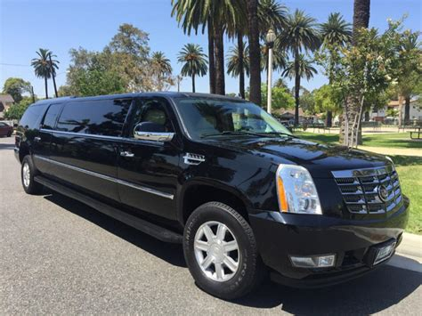 cadillac limo for sale limousine for sale 2007 cadillac escalade in los angeles