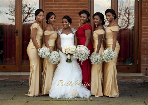 brides maid on yellow from bellanaija bella naija weddings pictures wedding ideas 2018