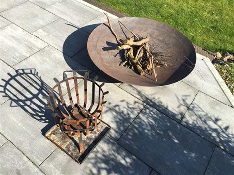 Feuerschale Terrasse by Lagerfeuer F 252 R Garten Terrasse Feuerschale Oder