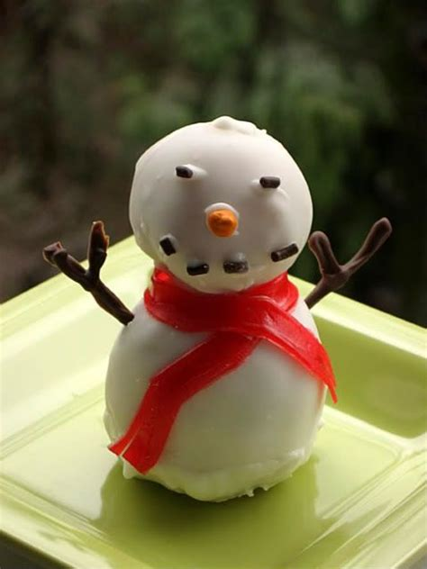 17 best images about snowman food on pinterest truffles