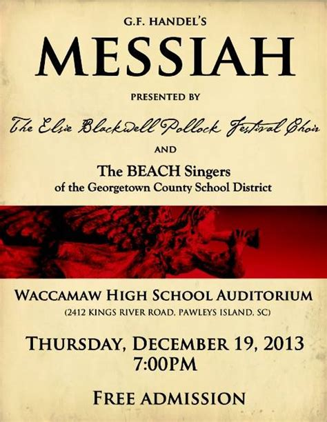 Awesome First Baptist Church Georgetown Sc #8: Messiah-poster.jpg