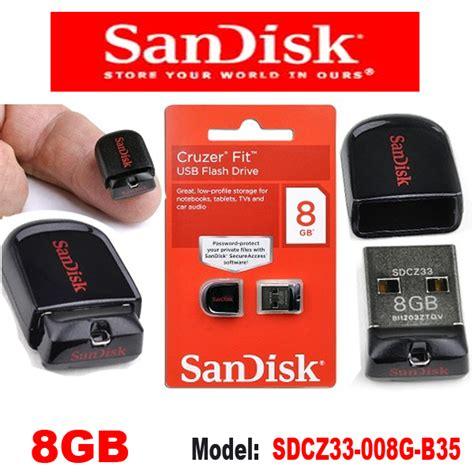 Sandisk Cruzer Fit 8 Gb Flashdisk mini pen drive sandisk cruzer fit z33 8gb