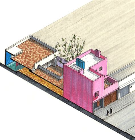 Architecture Floor Plan by Gallery Of 20 Beautiful Axonometric Drawings Of Iconic
