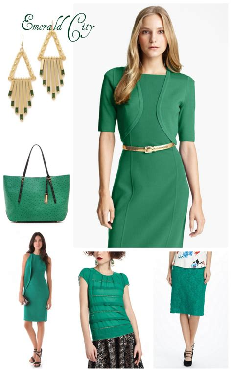 emerald green clothing pantone color of the year 2013