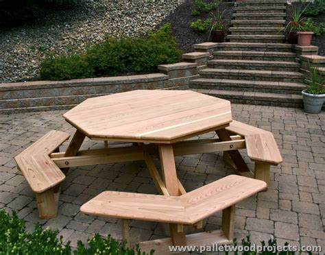 bench project pallet picnic table and benches pallet wood projects