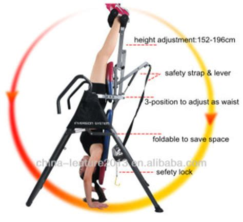 the 5 benefits of inversion table goal weight