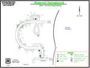 cgrounds oregon map reservoir cground cgrounds oregon