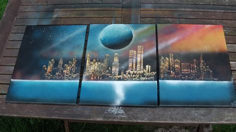 spray painting how to how to spray paint 3 canvas painting