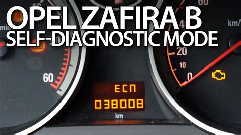 opel vauxhall zafira  dtc error codes diagnostic mode youtube
