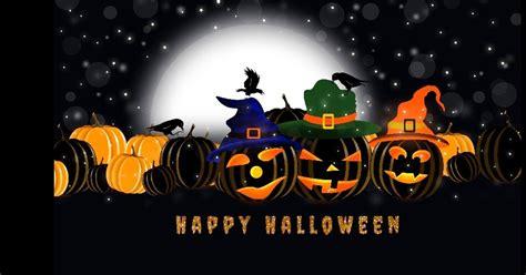 calendars printable twitter headers facebook covers wallpapers happy halloween black