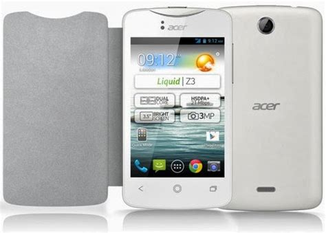 Hp Acer Android Jelly Bean Murah acer liquid z3 android jelly bean murah rp 700 ribuan