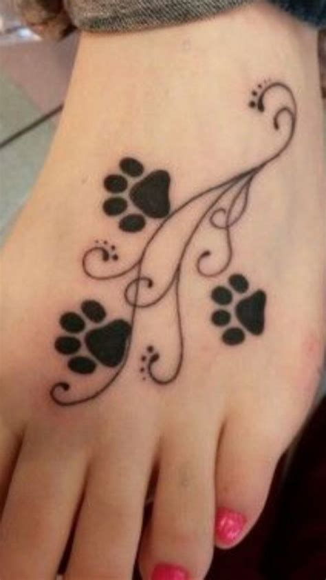 17 Best Ideas About Pet Memorial Tattoos On Pinterest Husky Paw Print Tattoos