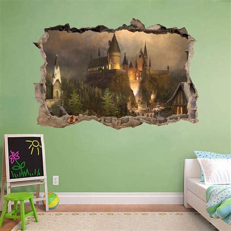 hogwarts wall mural hogwarts wall mural hogwarts harry potter 3d window view