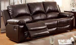 Best Reclining Leather Sofa Davenport Top Grain Leather Match Reclining Sofa