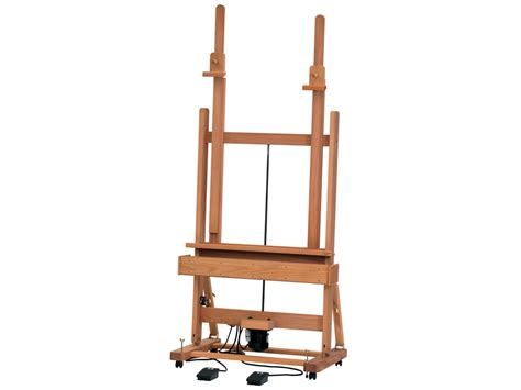 Studio Easel electric studio easel mabef m 02 with mast vunder