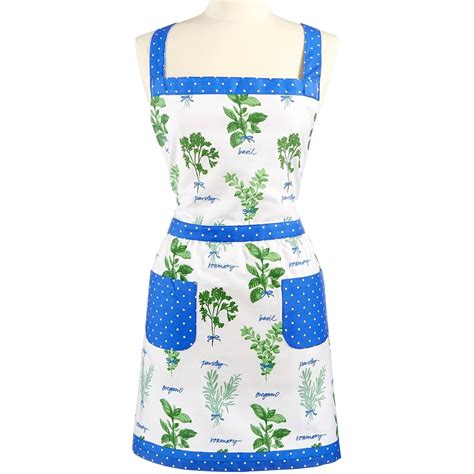 Kitchen Collection Aprons Martha Stewart Collection Picked Herbs Apron