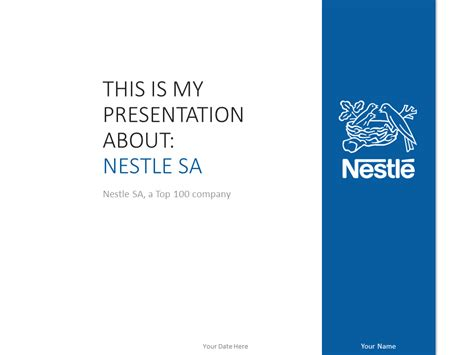 power point templates for mac nestl 233 powerpoint template blue presentationgo