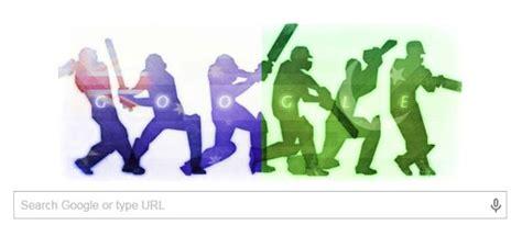 doodle do pakistan s doodle hints at a batting duel in pakistan
