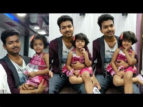 actor vijay daughter divya saasha date of birth vijay s son jason sanjay divya saasha viral photos
