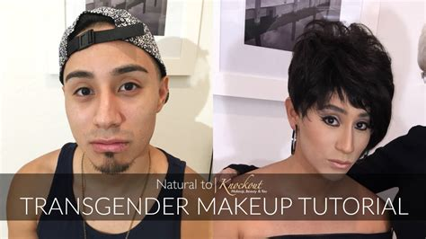 makeup tutorial transgender natural to knockout soft subtle transgender makeup