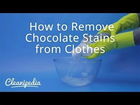 17 best ideas about removing chocolate stains on pinterest grease stains ink stains and