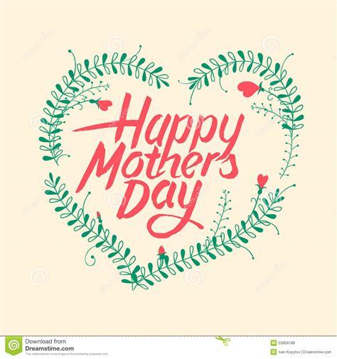 imagenes vintage dia de la madre d 237 a de madres feliz tarjeta tipogr 225 fica del vintage