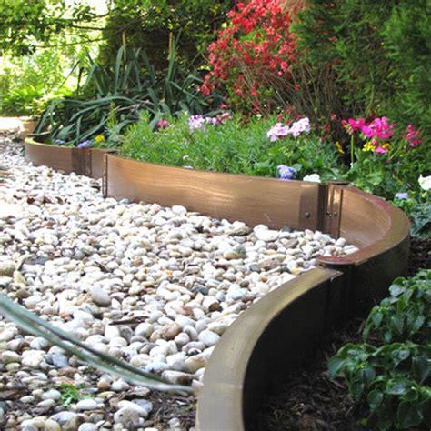 ideas create solid boundaries   lawn  garden