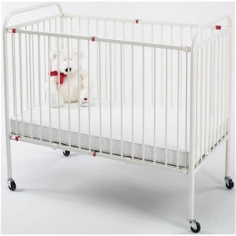 wehsco metal folding crib porta size s