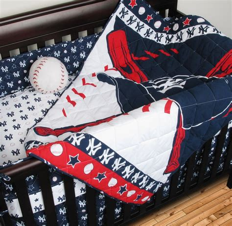 new york yankees bedding sports coverage now offers new york yankees crib bedding in a set to include a