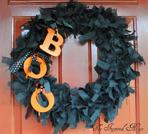 halloween wreath the inspired nest burlap halloween wreaths