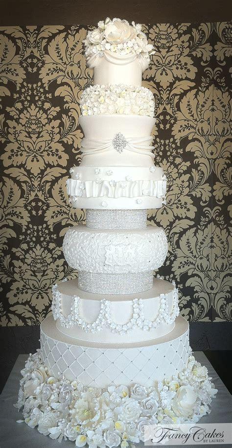 Fancy Wedding Cakes by Wedding Cake On Bling Cakes Bling Wedding