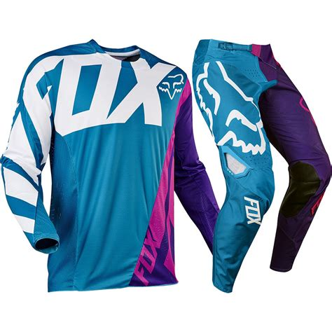 purple motocross gear fox racing 2017 mx 360 creo teal purple pink