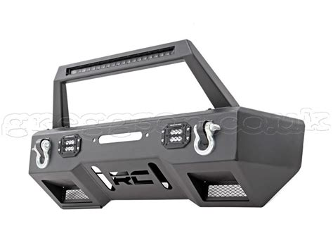 Jeep Jk Winch Plate Jeep Wrangler Jk Front Steel Bumper Led With Winch Plate