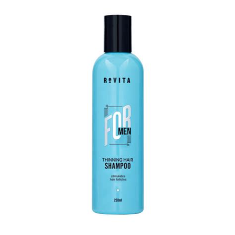 60 men hair products revita for men thinning hair shoo 250ml mayo